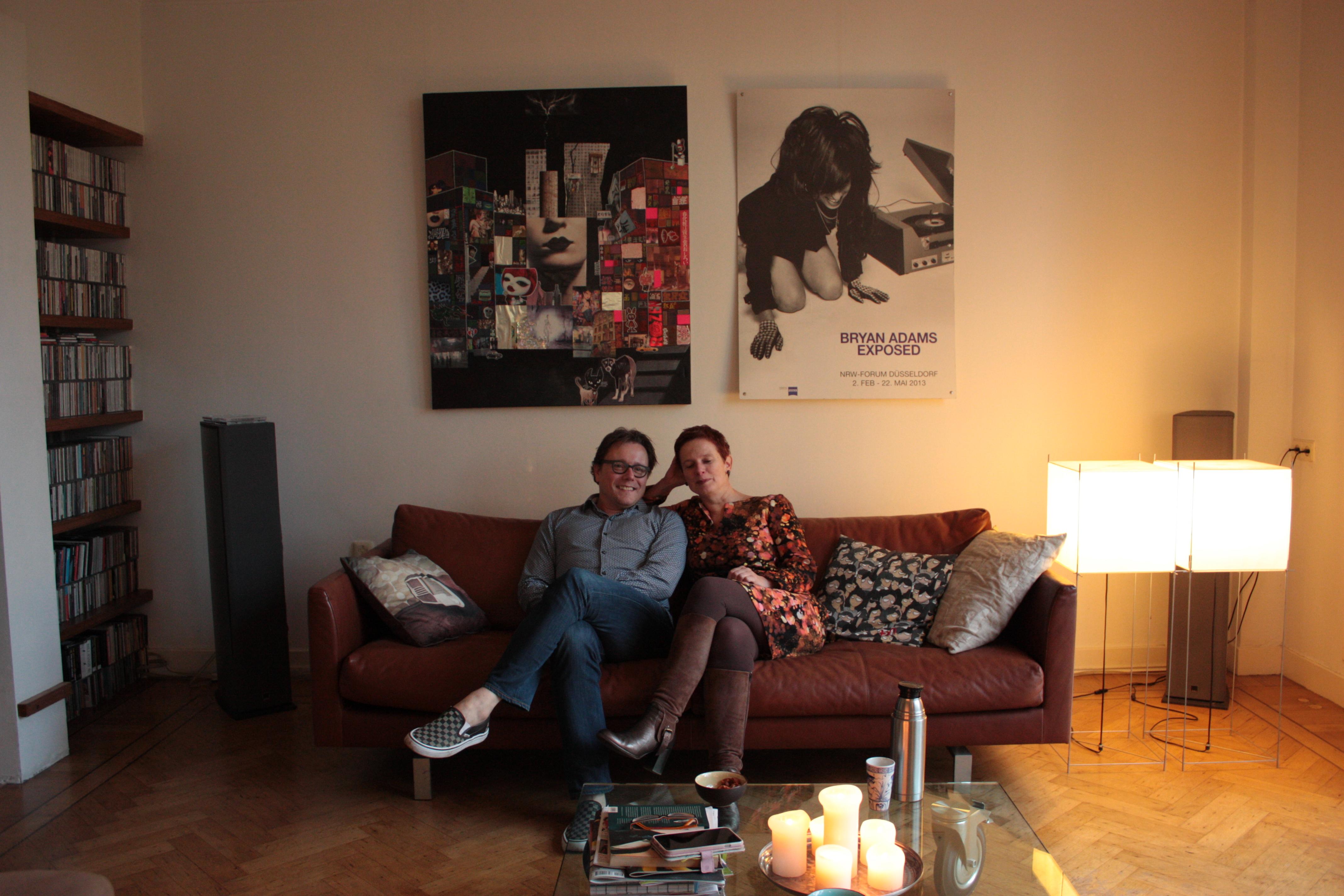 Interview met Chantal & Maurice, bewoners van 'de bunker'