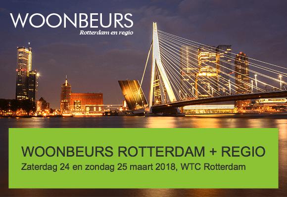 Woonbeurs Rotterdam 24 en 25 maart